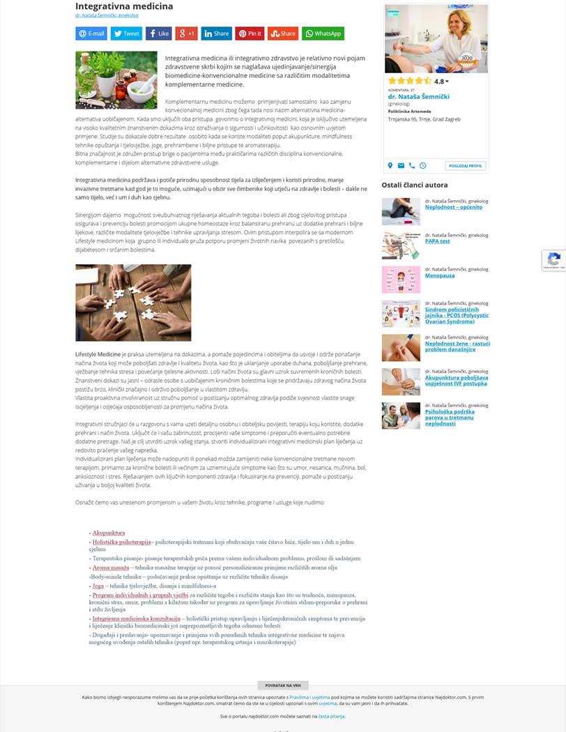 Najdoktor - Integrativna medicina